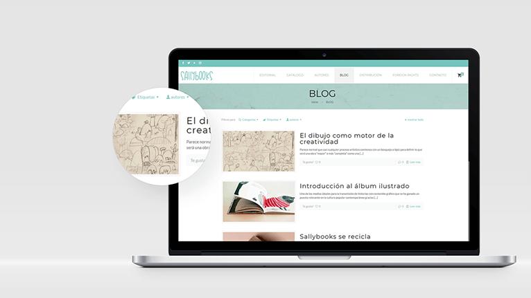 Nueva web de Sallybooks