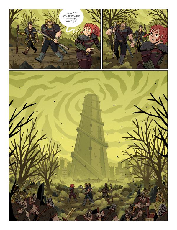 La senda de los druidas