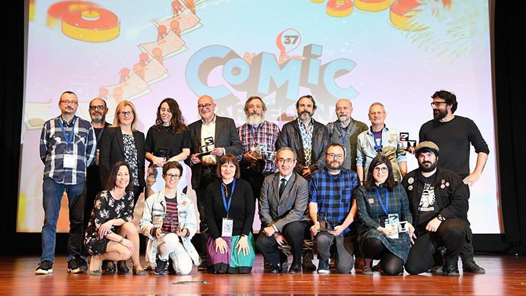 Premiados 37 Comic Barcelona