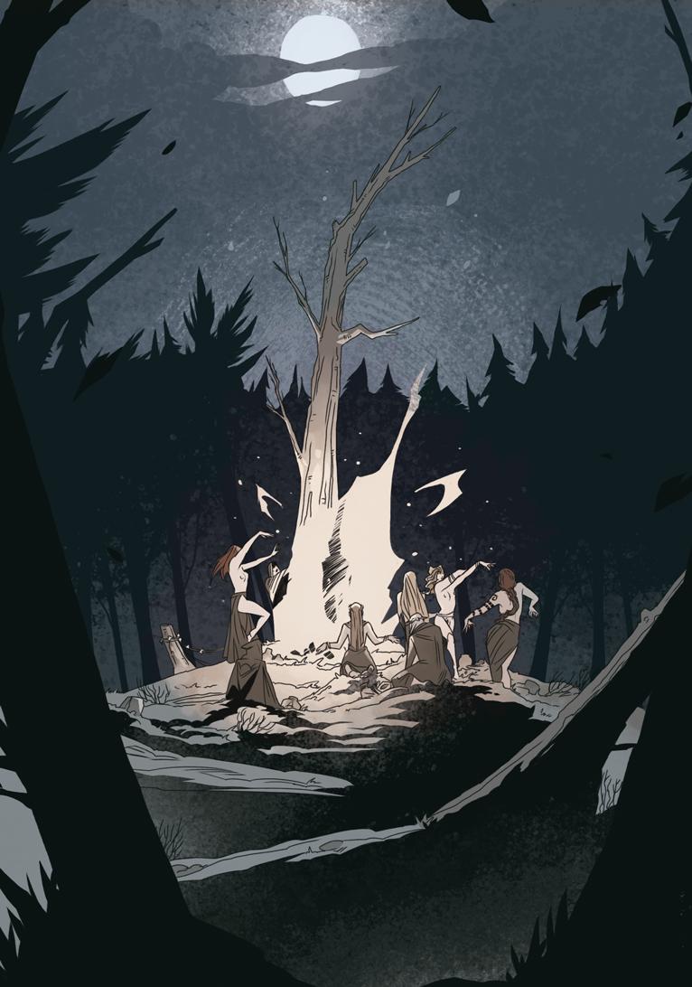 Wicca. Las hijas del bosque