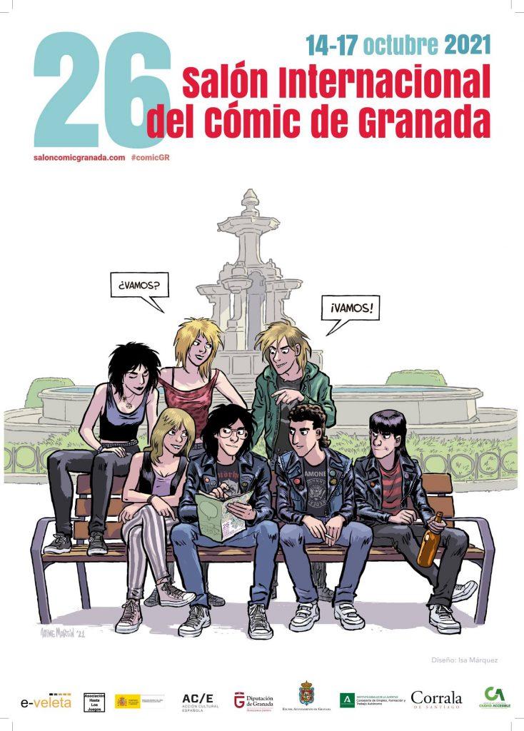 Cartel del 26 Salón del Cómic de Granada