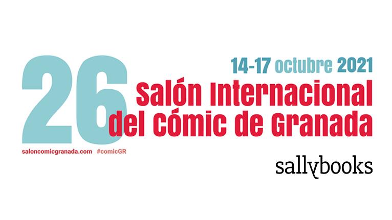 Sallybooks en el 26 Salón del Cómic de Granada
